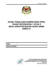 Buku Panduan PPK - TK1 Gred 41 - NRE