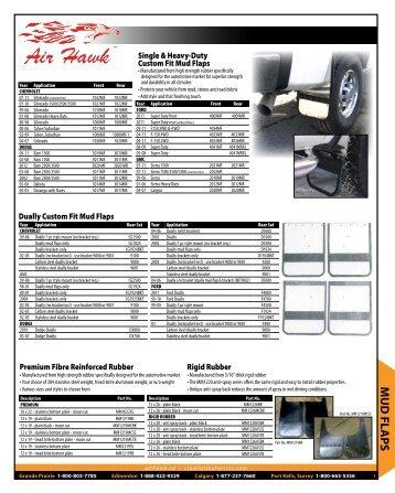 MUD FLAPS - Custom Truck Products