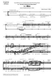 Nr.3 März - Edition Choris mundi