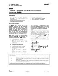 CC1101 Data Sheet (Rev. C - USconverters