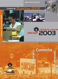 Redação e Questões ( 1ª Fase ) - Unicamp