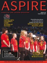 Capital Arts Children's Choir - Aspire Magazine