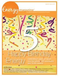 June/July 2011 - Energy Magazine