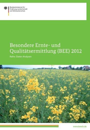 (BEE) 2012 - BMELV-Statistik