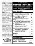 The FAO Journal International Affairs - Faoa - Page 2