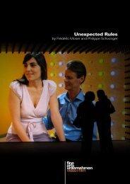 Unexpected Rules - Fine Arts Unternehmen
