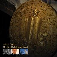 Allan Buch - California House, London - University of California