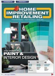 PAINT & INTERIOR DESIGN - Home Improvement Retailing