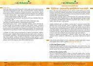Výživa a poruchy polykání - Moje lékárna