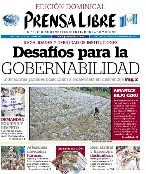 PDF 04122011 - Prensa Libre