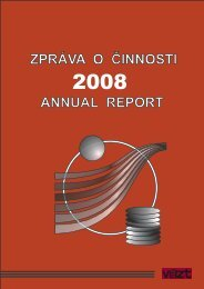 Zpráva o činnosti v roce 2008 (12MB) - SVT