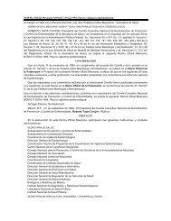 NORMA Oficial Mexicana NOM-017-SSA2-1994, Para la vigilancia ...