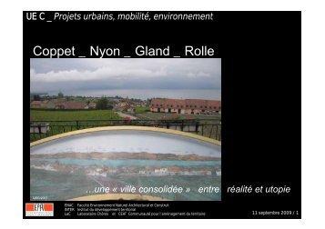 Coppet _ Nyon _ Gland _ Rolle - Chôros