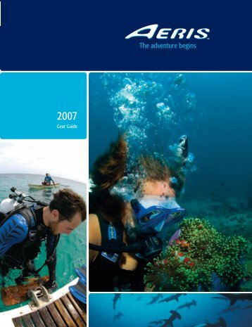 Aeris 2007 catalog - ScubaDiverInfo.com