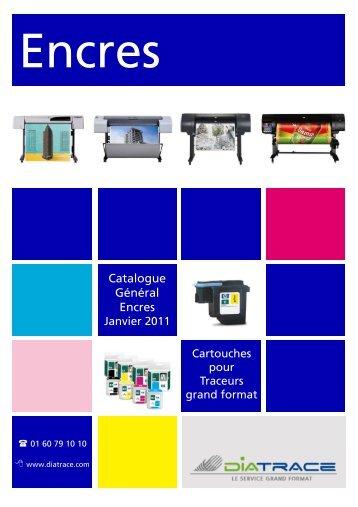 Catalogue Général Encres - Diatrace