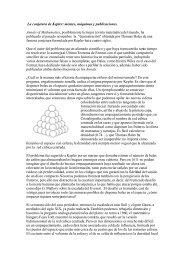La conjetura de Kepler: mentes, máquinas y publicaciones