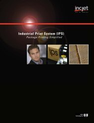 Industrial Print System (IPS)