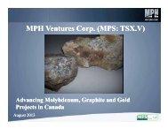 MPH Ventures Corp. (MPS: TSX.V) - PrecisionIR