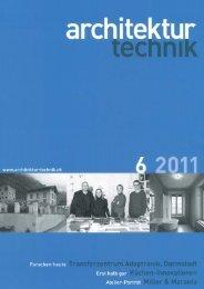 Architektur Technik, 6 2011