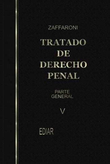 Tratado de Derecho Penal. Parte General. Tomo V