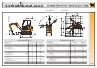 JCB MINI EXCAVATORS | 803 PLUS & 803 SUPER