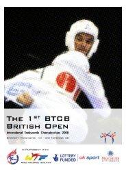 Download British Open Information - British Taekwondo