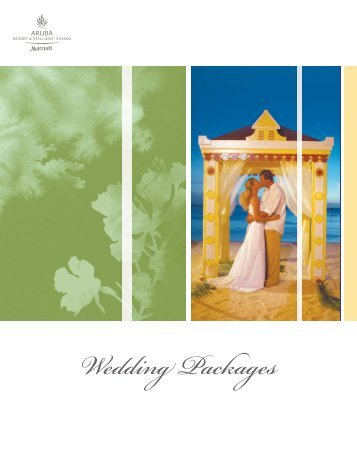 Caribbean Sunset Wedding - Package 1 - Weddings in Aruba
