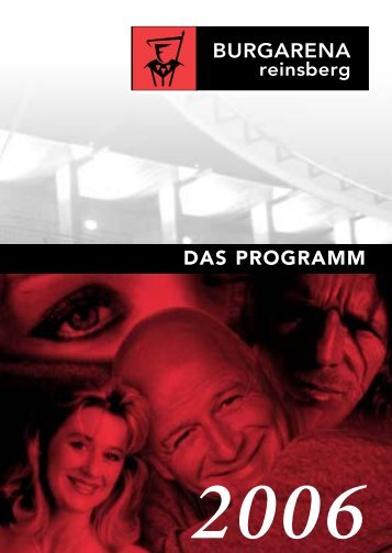 DAS PROGRAMM - kulturmanager.at