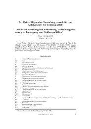 3 c. Dritte Allgemeine Verwaltungsvorschrift zum Abfallgesetz (TA ...