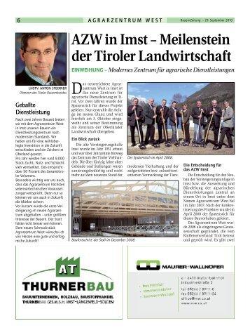 sonderbeilage - Braunvieh Tirol