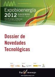 Dossier de Novedades Tecnológicas Expobioenergía 2012