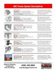 Sign Frames - ABC Sign Products - Page 2
