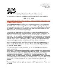 Confirmation Letter For RSP 2010-06-12 13 - Rally Sport Region