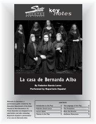 Bernarda Alba.qxd - State Theatre