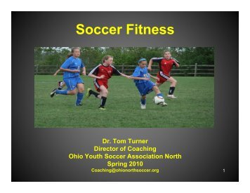 Soccer Fitness: Practice Games - Ohio Youth Soccer Association North