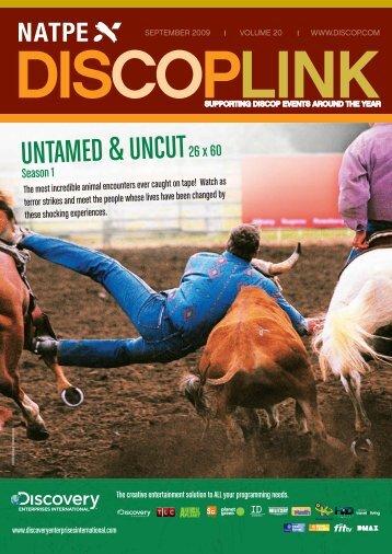 UNTAMED & UNCUT26 x 60 - Discop