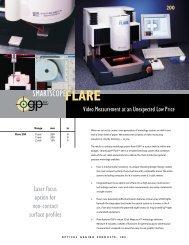 SmartScope® Flare™ 200 - BC MacDonald & Co.