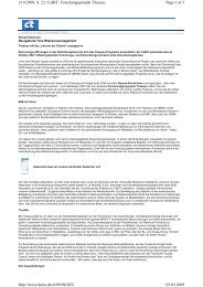 Page 1 of 3 c't 6/2009, S. 22: CeBIT: Forschungsprojekt ... - Attensity