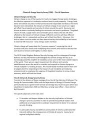 Climate & Energy Security Envoy (CESE) – The UK Experience ...