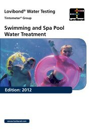 Swimming and Spa Pool Water Treatment