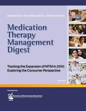 2011 MTM Digest - American Pharmacists Association