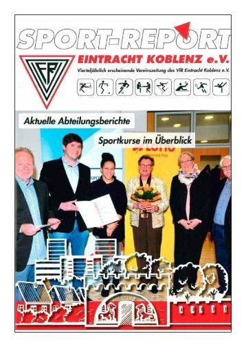 aktueller Sportreport 1.13 - VfR Koblenz