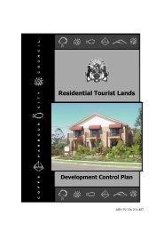 Residential Tourist Lands Development Control Plan