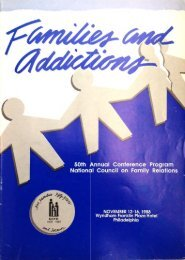 1988 NCFR Annual Conference - National Council on Family ...