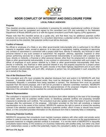 ICMJE Form for Disclosure of Potential Conflicts of Interest