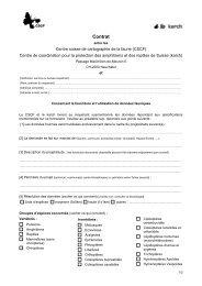 RICHIESTE E PROTEZIONE DEI DATI - CSCF