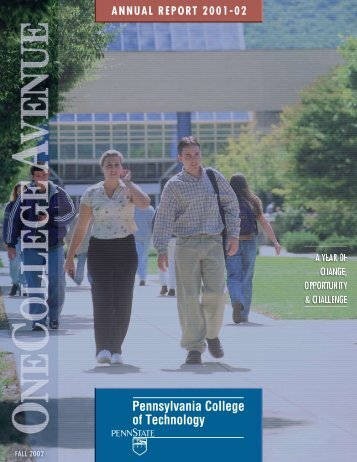 Fall 2002 - Pennsylvania College of Technology