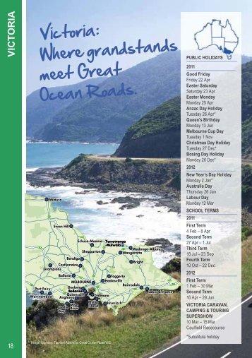 V IC TO R IA - BIG4 Holiday Parks - Australia