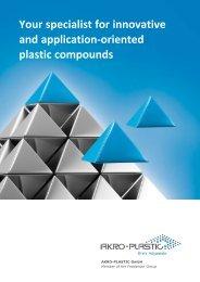 AKRO Image brochure A3 - AKRO-PLASTIC GmbH