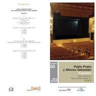 Programa del concierto - Caja España-Duero